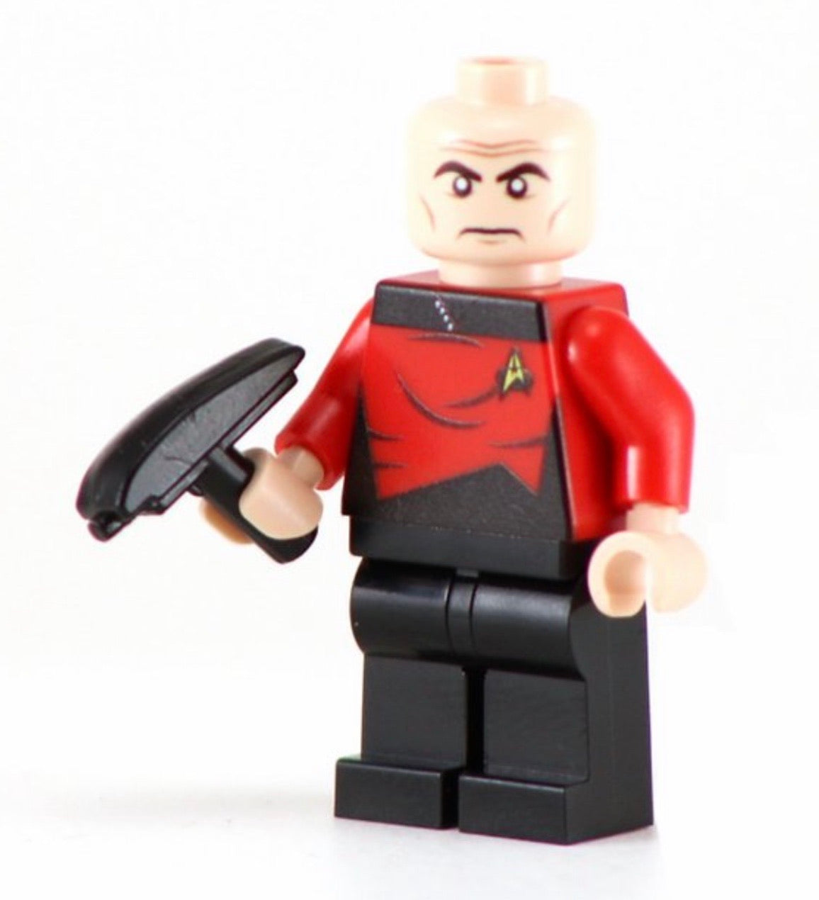 Star Trek Captains /& Chairs SetInstructions and Decals for Lego Minifigures