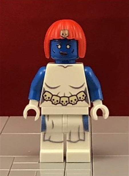 Mystique Comic Version Custom Printed & Inspired Lego Marvel Xmen Minifigure
