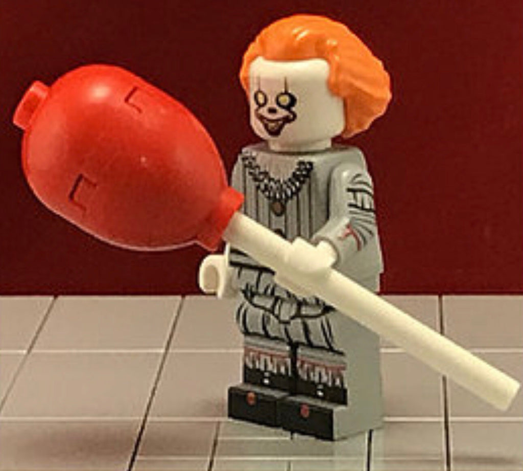 PENNYWISE Custom Printed & Inspired Lego IT MOVIE Minifigure