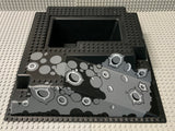 32x32 Raised Baseplate W/ Ramp & Pit, Crater Pattern 2552px2 Lego (R)