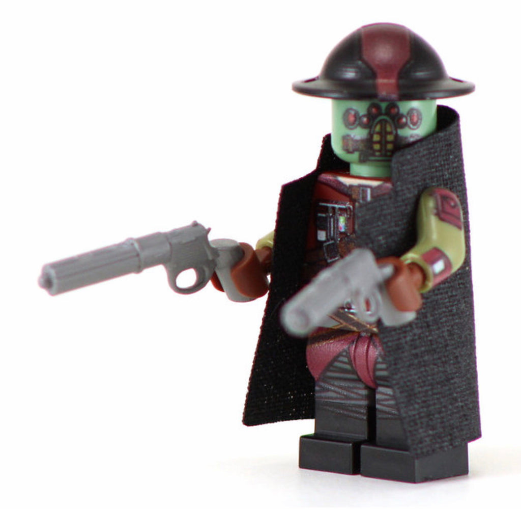 GEDDHOHUK Custom Printed & Inspired Star Wars Lego Minifigure
