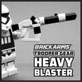Brickarms Trooper Gear Heavy Blaster Custom Weapon