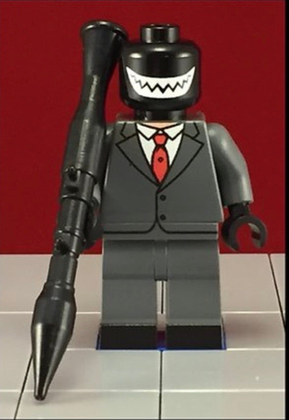 MR Grin Joker Henchman DC Custom Printed Minifigure