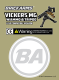 BRICKARMS Vickers MG