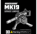 BRICKARMS Mk19 Grenade Launcher