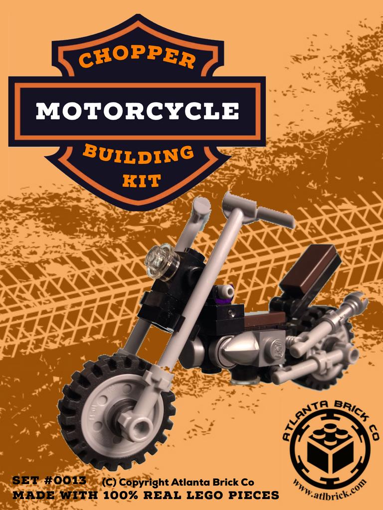 Chopper Motorcycle Building Kit