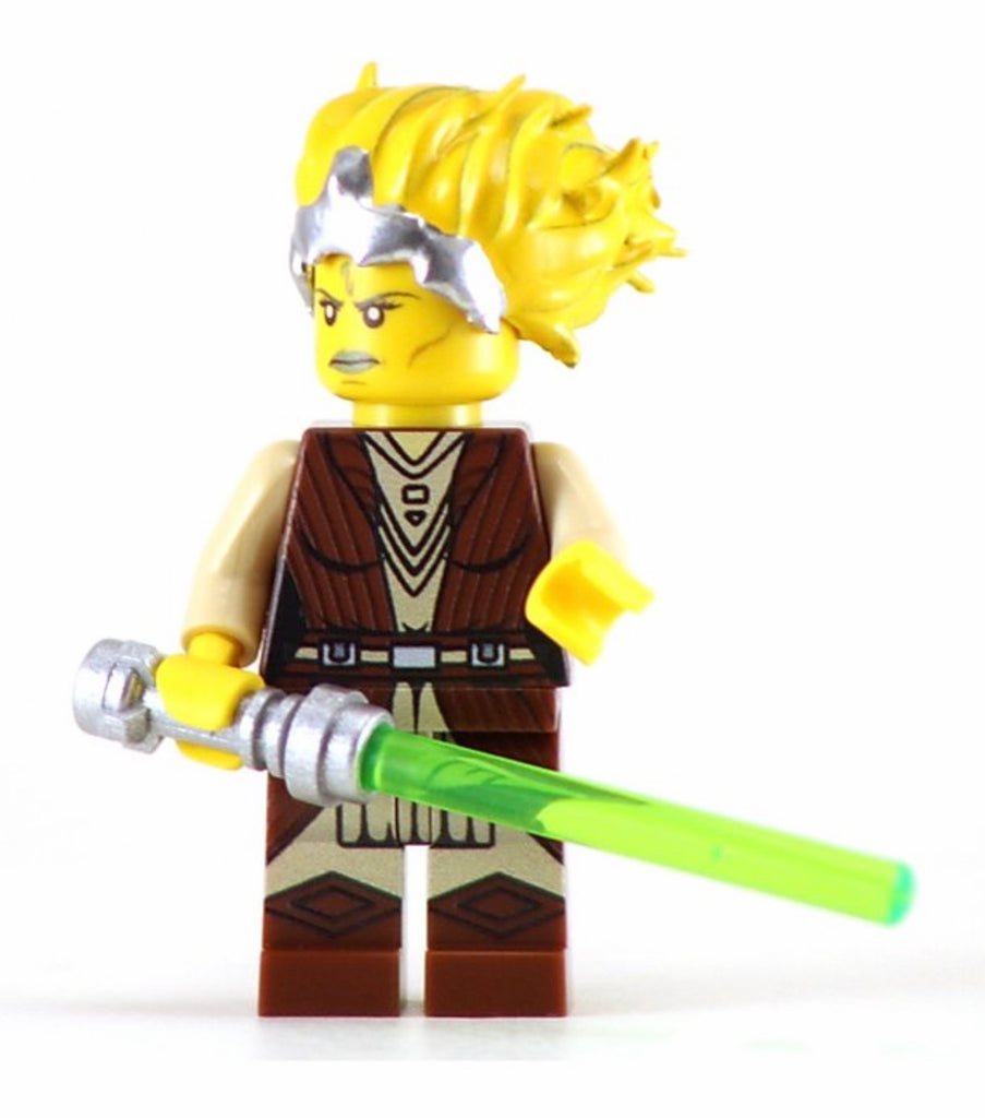 Tiplar Custom Printed & Inspired Lego Jedi Star Wars Minifigure