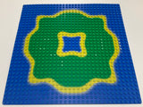 32x32 Lego(R) Road Baseplate 3811pb02 Blue Bottom