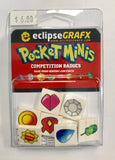 EclipseGRAFX Pocket Minis Competition Badges.