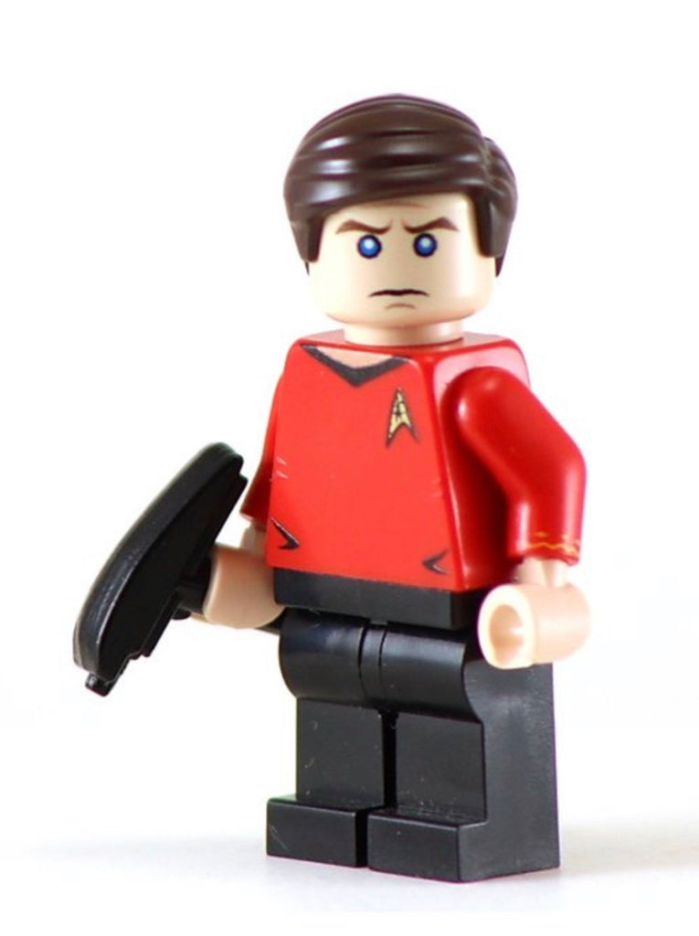 "MONTGOMERY SCOTT ""SCOTTY"" Custom Printed Star Trek Lego Minifigure"