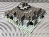 32x32 Raised Baseplate Canyon w/ Gray Underwater Pattern 6024px3 Lego (R)