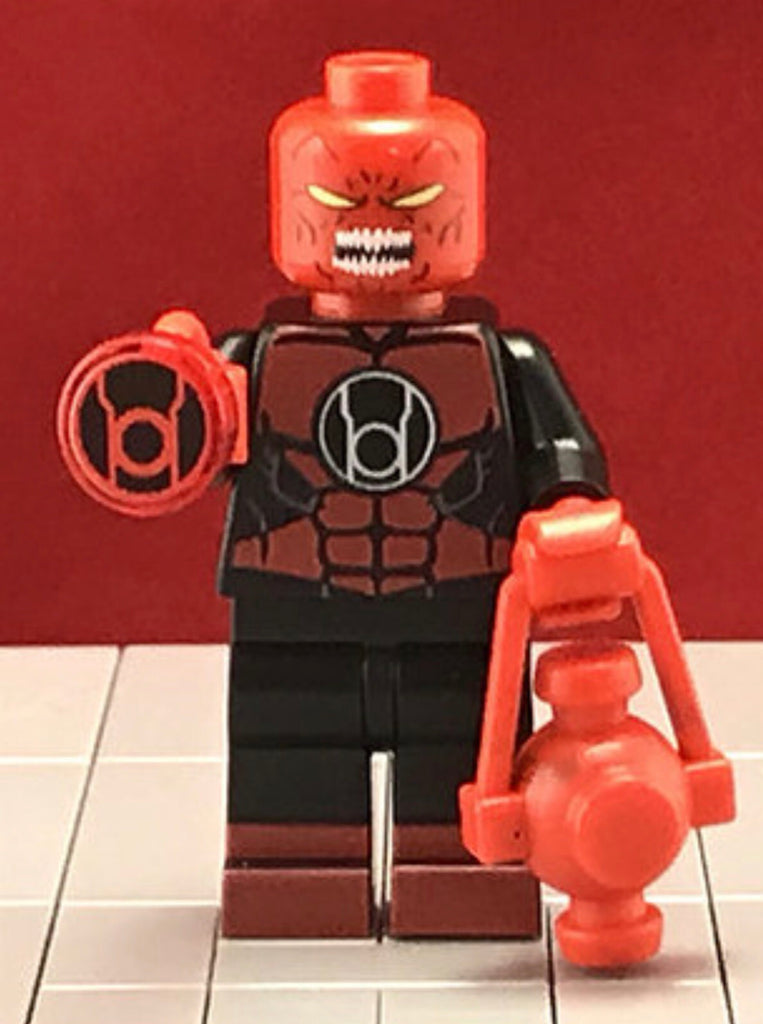 Atrocitus Red Lantern 2nd Gen DC Custom Printed & Inspired Lego Minifigure