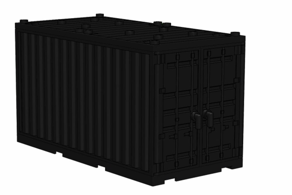 Battle Brick Cargo Shipping Container