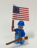 Civil War Custom Lego(R) Minifigure, Blue