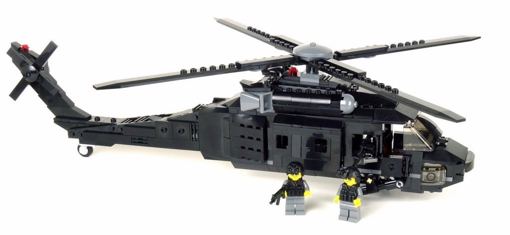 Battle Brick Uh-60 Army Black Hawk Helicopter
