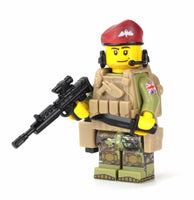 Battle Brick British Paratrooper Custom Minifigure