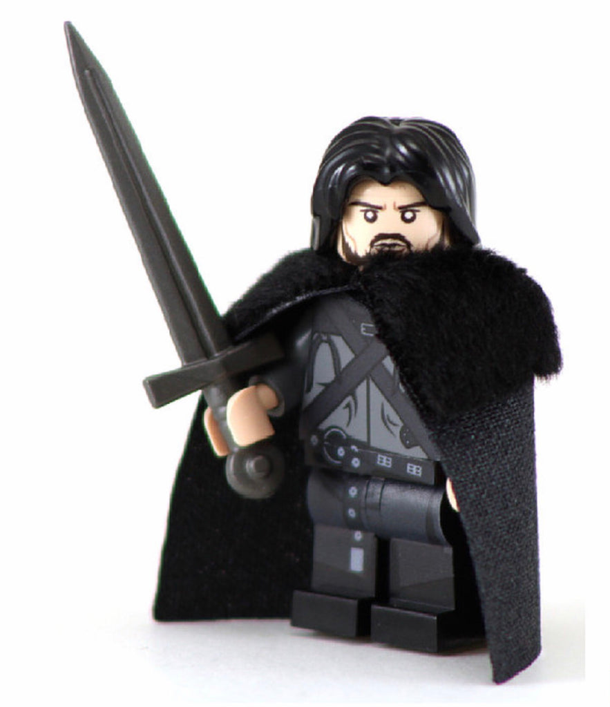 JON SNOW Custom Printed & Inspired Game of Thrones Lego Minifigure