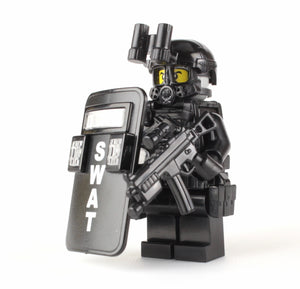 Battle Brick SWAT Pointman Custom Minifigure