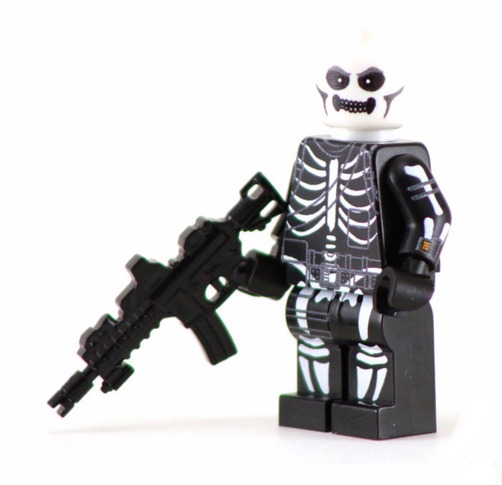 SKULL TROOPER Custom Printed Lego Inspired Fortnite Minifigure!