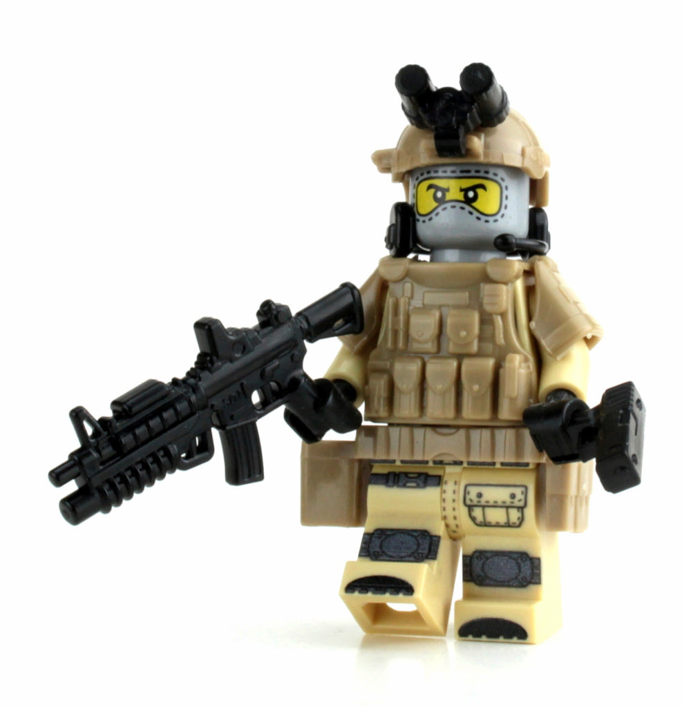 Battle Brick Special Forces Heavy Assault Commando Custom Minifigure