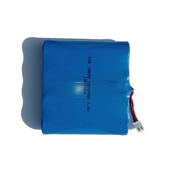 7.4V 5200mAh Li-ion Rechargeable Batteries