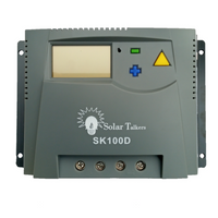 Solar Charge Controller 48V 100A PWM With Display