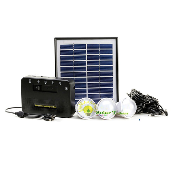 Solar Rechargeable  Home lighting LED Light K013
