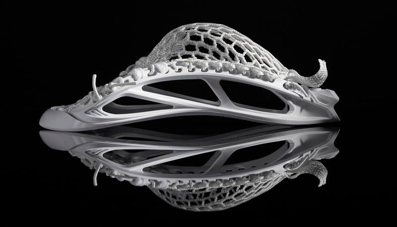 stx ultra power lacrosse head strung