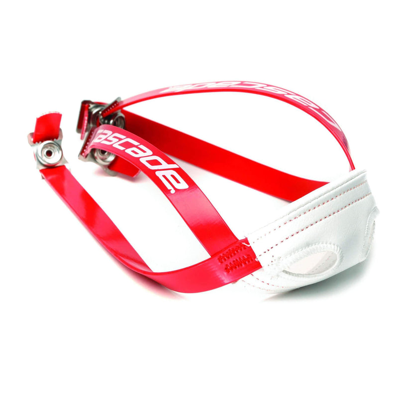 Cascade Chin Strap Red Straps