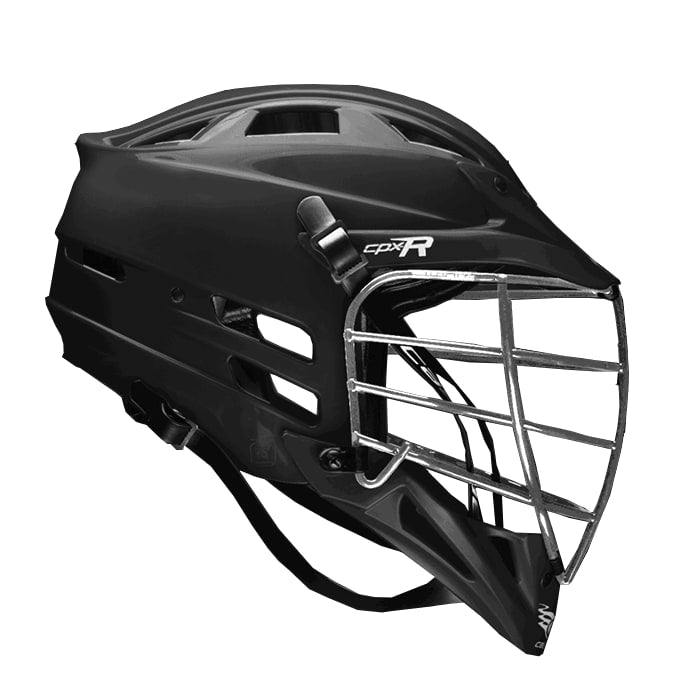 Cascade Cpxr Helmet - Chrome Mask One Size / Black Stock Helmets