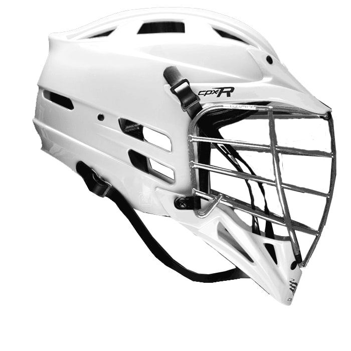 Cascade Cpxr Helmet - Chrome Mask One Size / White Stock Helmets