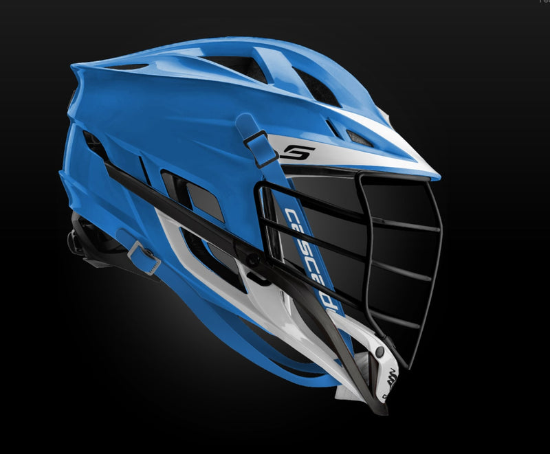 Cascade S Helmet Black Mask - Customizable Custom Helmets
