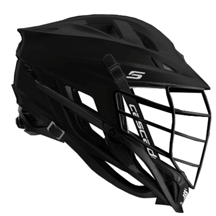 Cascade S Helmet Matte Black With Mask One Size Stock Helmets
