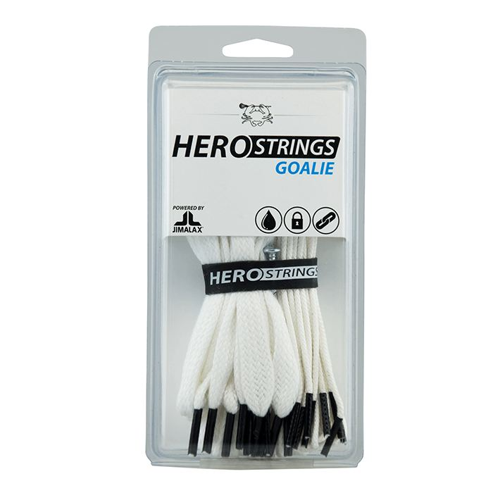 Ecd Goalie Hero Strings / White