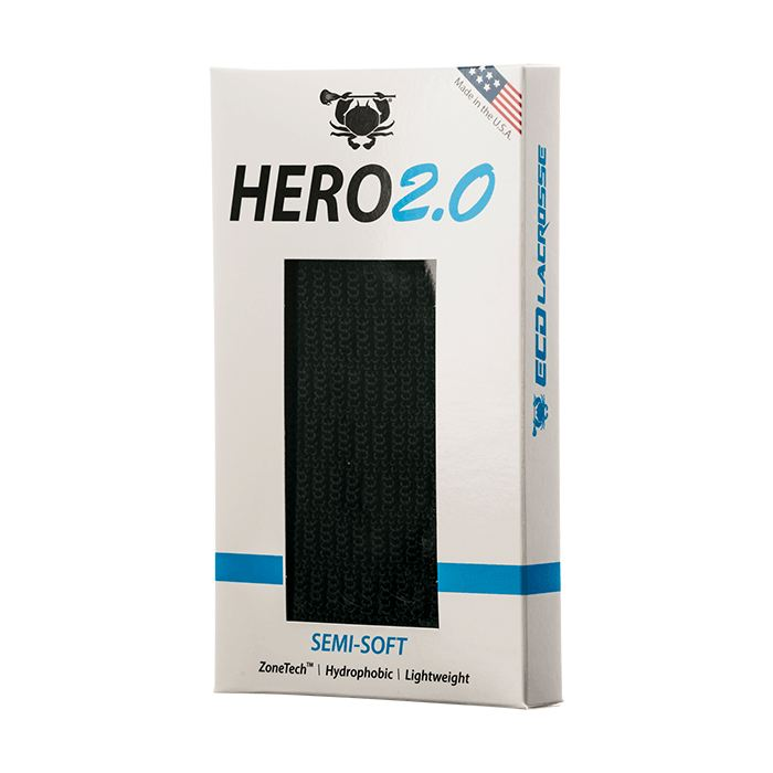 Ecd Hero 2.0 Mesh - Semi-Soft Black Performance