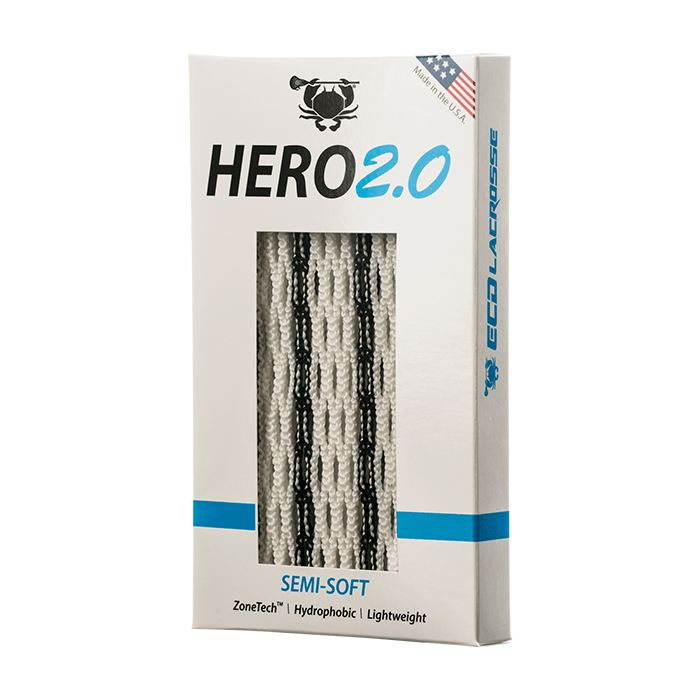 Ecd Hero 2.0 Striker Mesh - Semi-Soft Black Performance