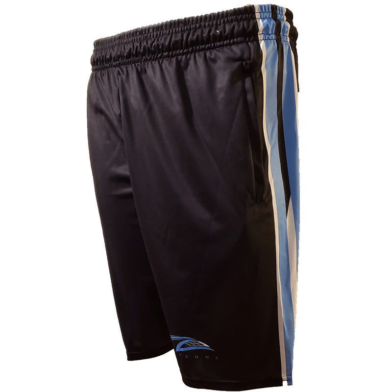 Lax Zone 3 Stripe 2.0 short - Black