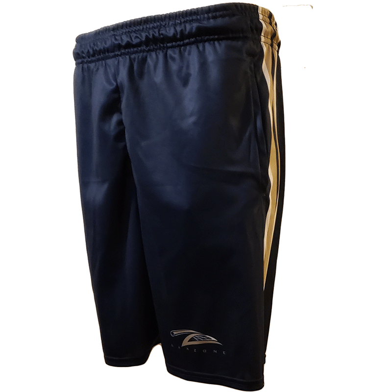 Lax Zone 3 Stripe 2.0 Lacrosse Short - Navy/Vegas/White