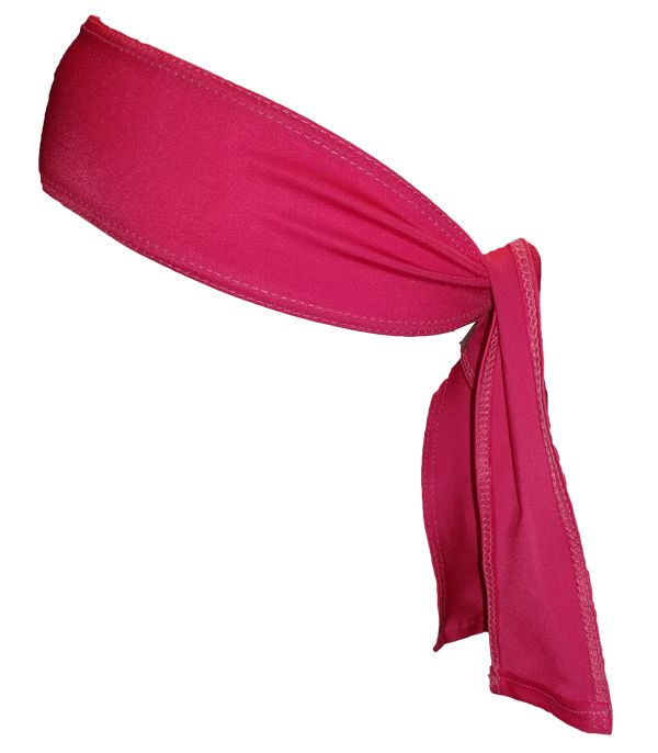 Lax Zone Head Tie One Size / Pink
