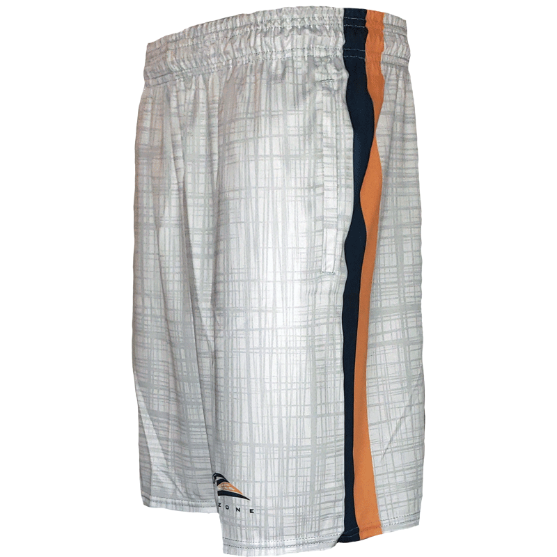 Lax Zone Tonal Plaid Short