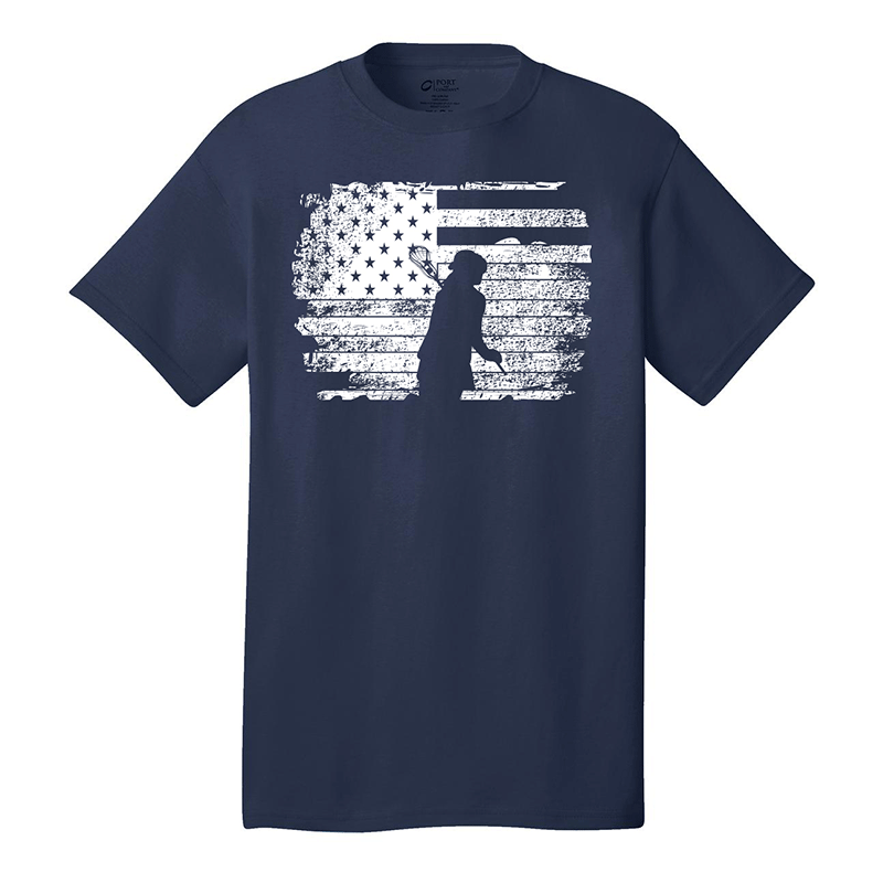 Lax Zone Girls USA Silhouette Tee