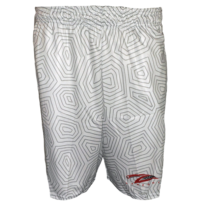 Lax Zone Maryland Flag Shell Short