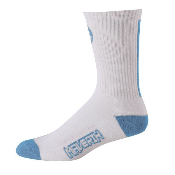 Maverik Big Time Performance Crew Socks One Size / Carolina