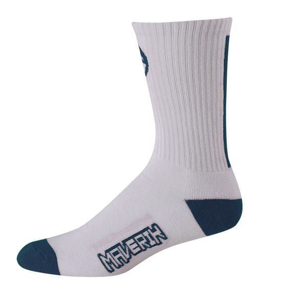 Maverik Big Time Performance Crew Socks One Size / Navy