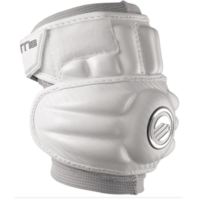 Maverik M3 Elbow Pads Large / White/silver Arm