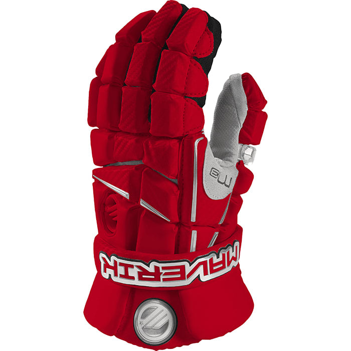 Maverik M3 Glove 13-Large / Red Gloves