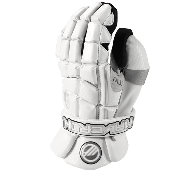 Maverik M3 Goalie Gloves Large / White
