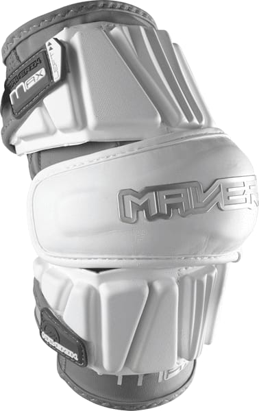 Maverik Max Arm Pad Medium / White