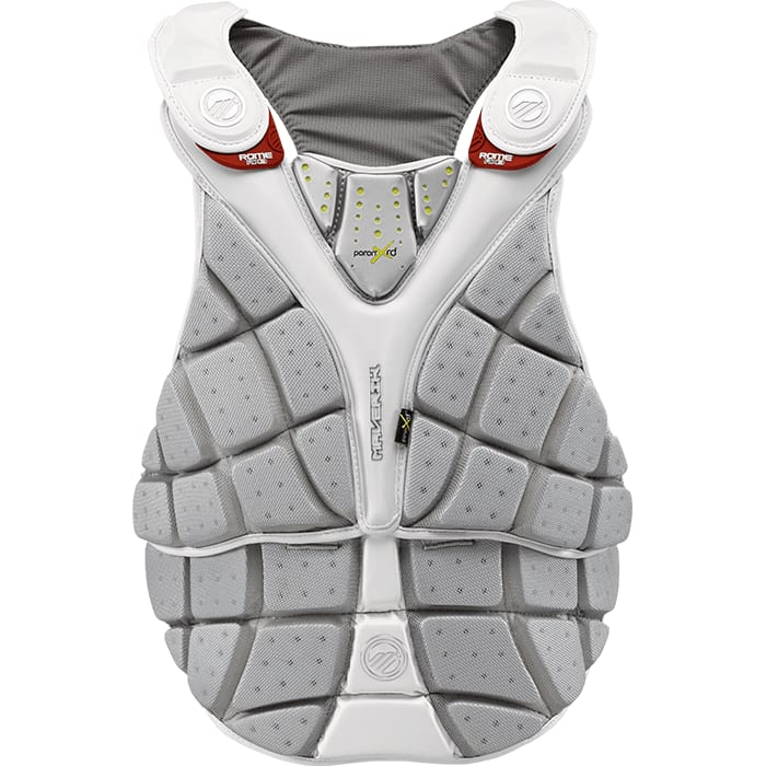 Maverik Rx3 Chest Pad Medium / White Pads
