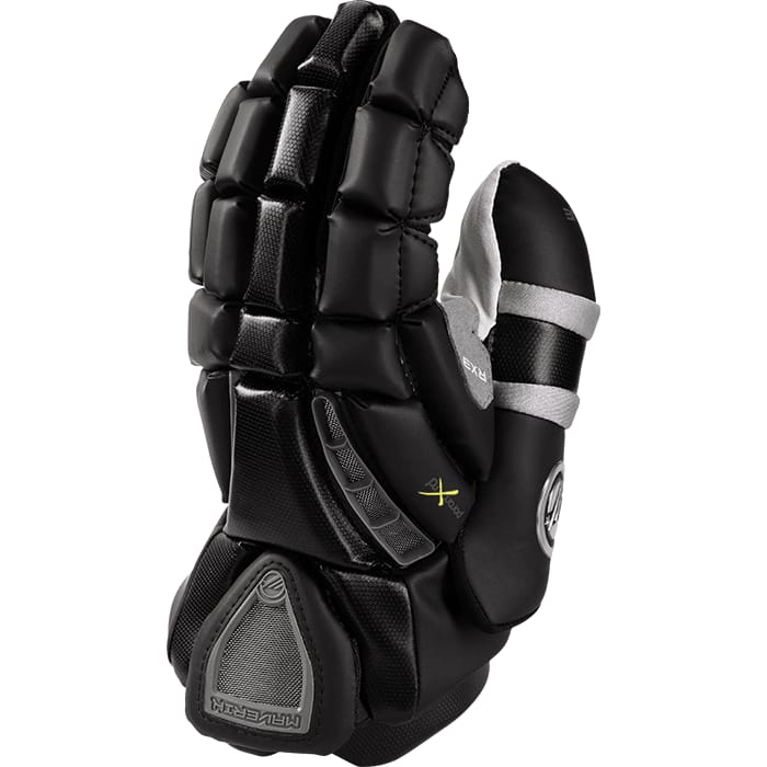 Maverik Rx3 Goalie Glove 13-Large / Black Gloves